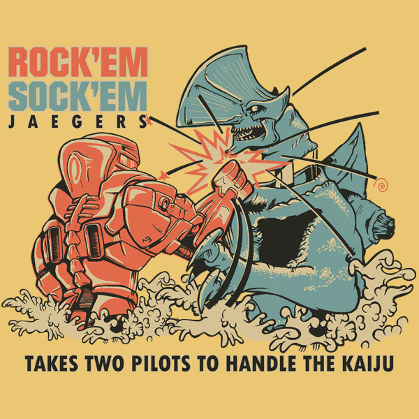 GraphicLab: Rock 'Em Sock 'Em Jaegers