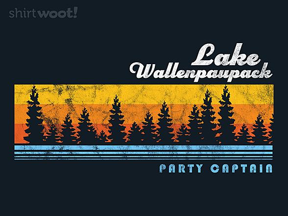 Woot!: Lake Wallenpaupack Party Captain