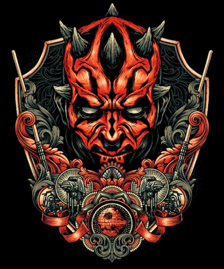 Qwertee: Emblem of Rage