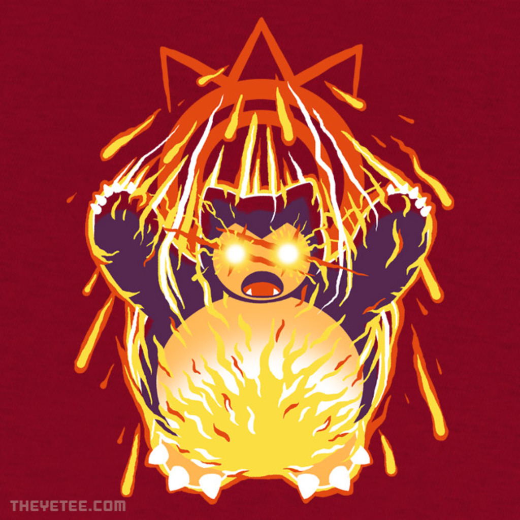 The Yetee: Pulverizing Pancake