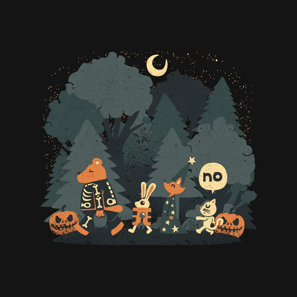 TeeFury: Halloween Forest