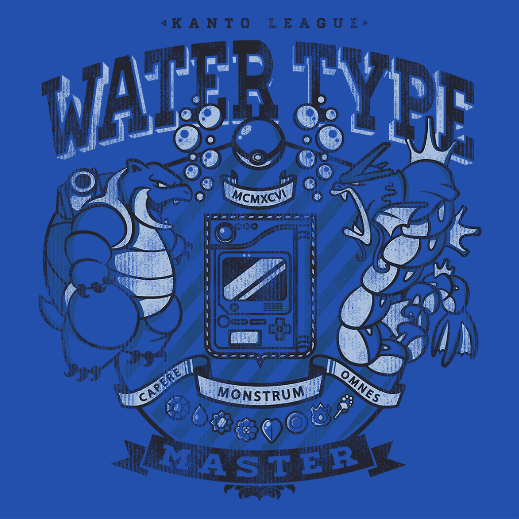 Pop-Up Tee: Water Type