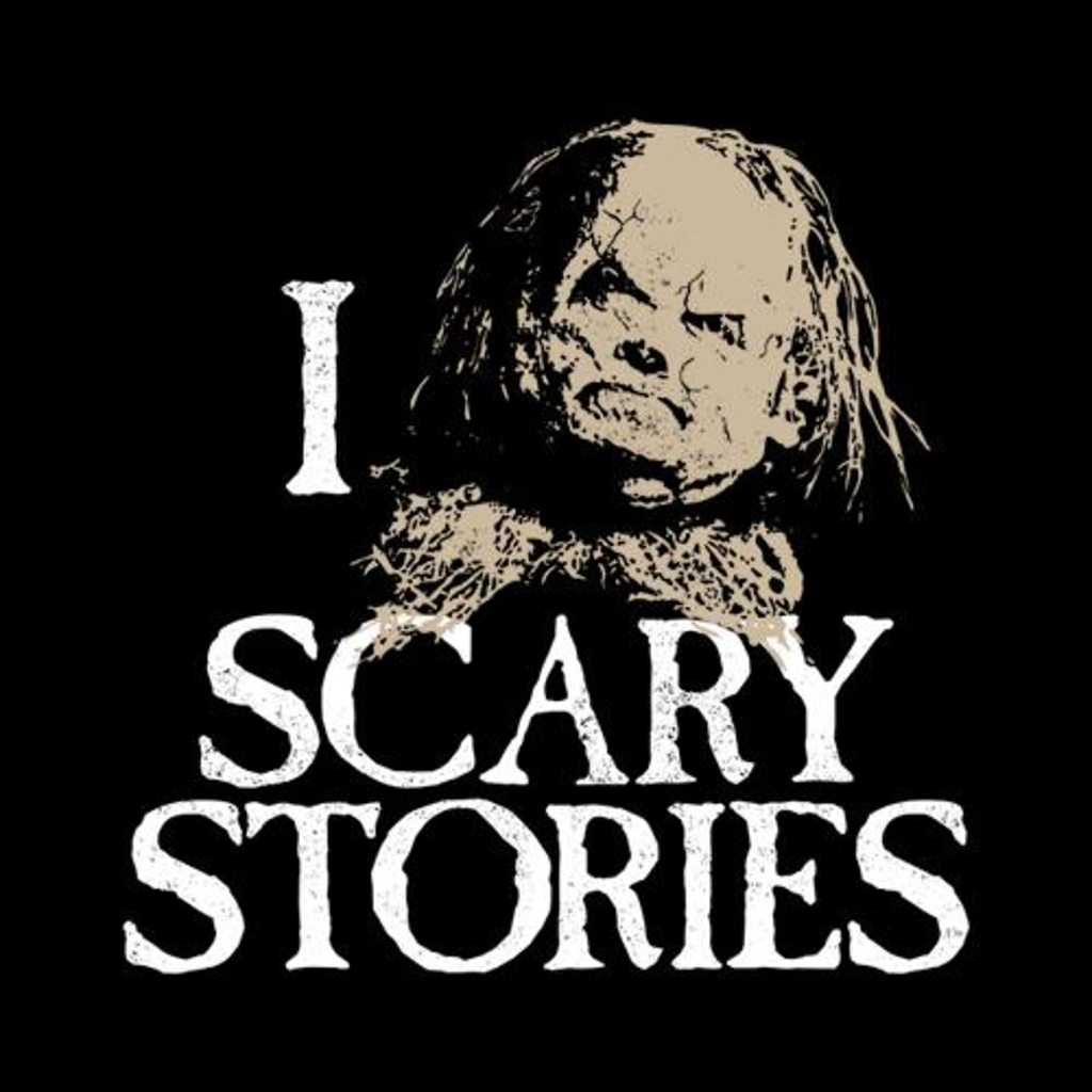 Five Finger Tees: I Heart Scary Stories T-Shirt