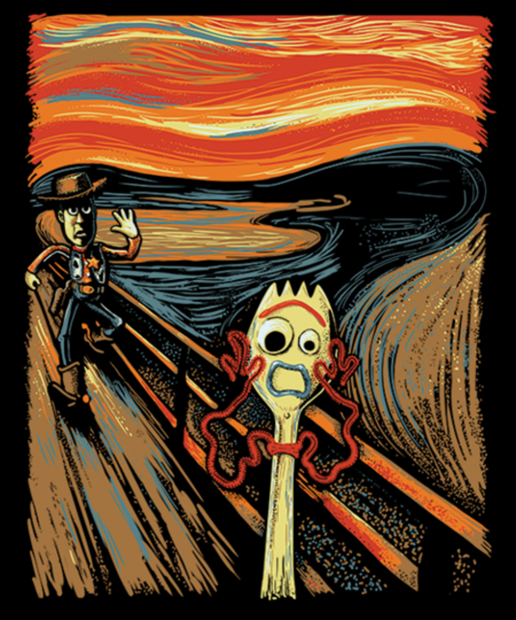 Qwertee: Screaming Trash