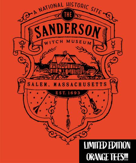 Qwertee: Sanderson Museum