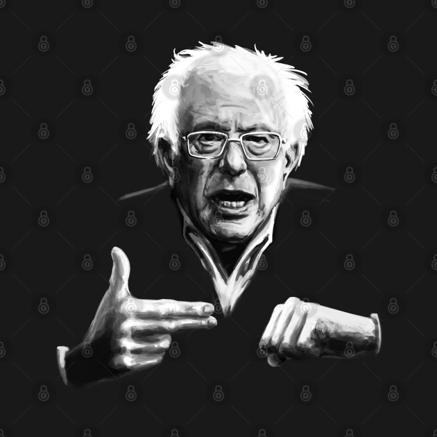 TeePublic: Bernie Sanders Run The Jewels