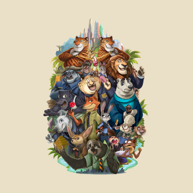 TeePublic: Welcome To Zootopia!