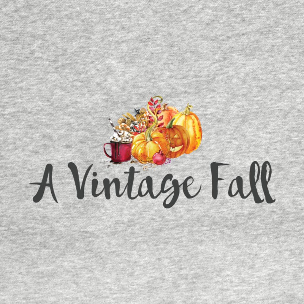 TeePublic: A Vintage Fall