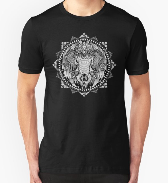 RedBubble: Elephant Medallion