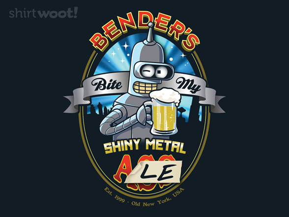 Woot!: Bite My Shiny Metal Ale