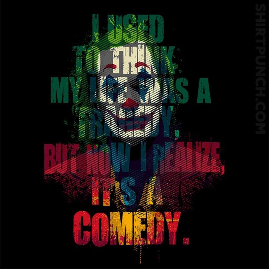 ShirtPunch: Tragedy Comedy