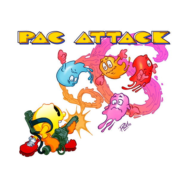 TeePublic: Pac Attack 2.0