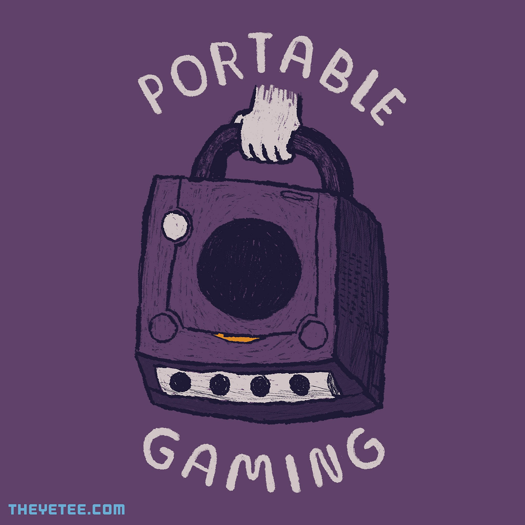 The Yetee: portable gaming