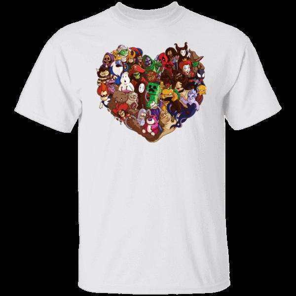 Pop-Up Tee: Heart