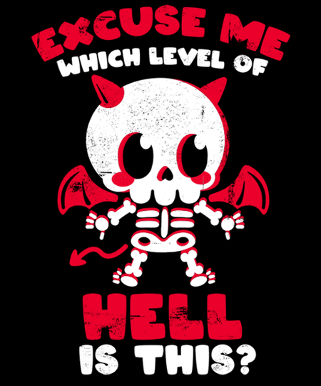 Qwertee: Hell is here