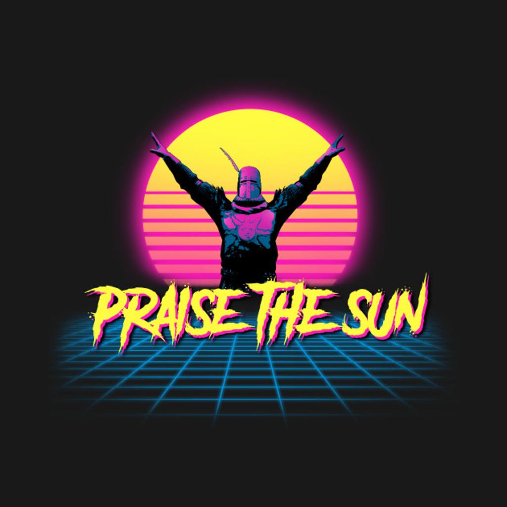 TeePublic: Praise the Synth