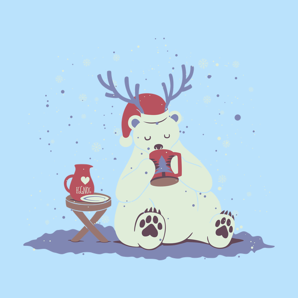 NeatoShop: Polar Xmas Eggnog