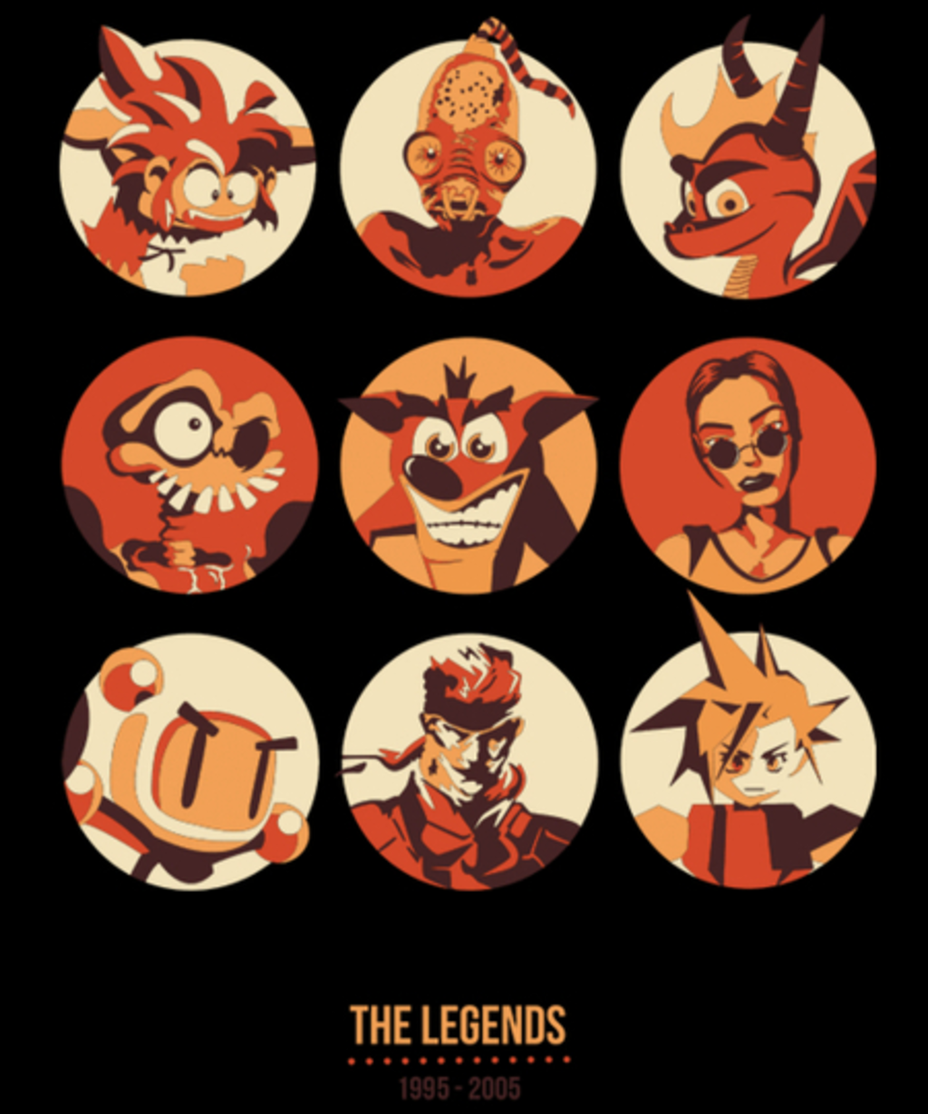 Qwertee: The Legends 1995 - 2005
