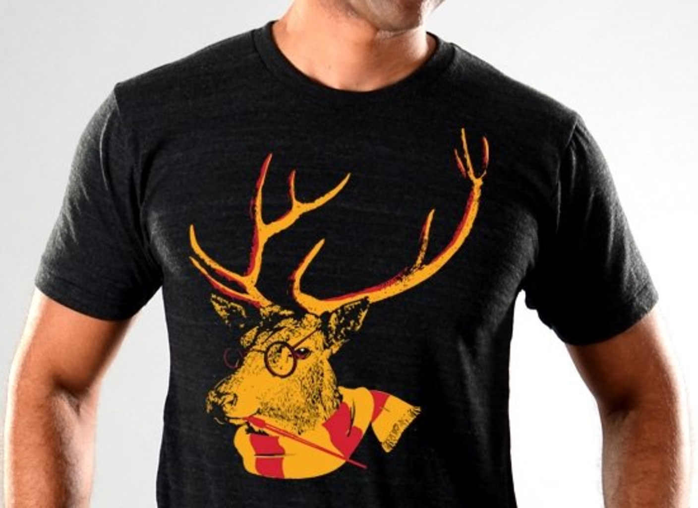 SnorgTees: Stag Scarf Limited Edition Tri-Blend