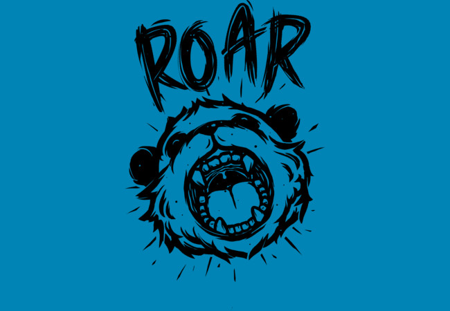Design by Humans: Angry Panda