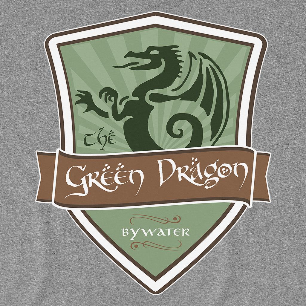 Pop-Up Tee: Green Dragon