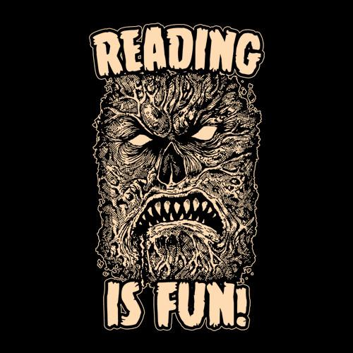 Five Finger Tees: Reading Is Fun Necronomicon T-Shirt