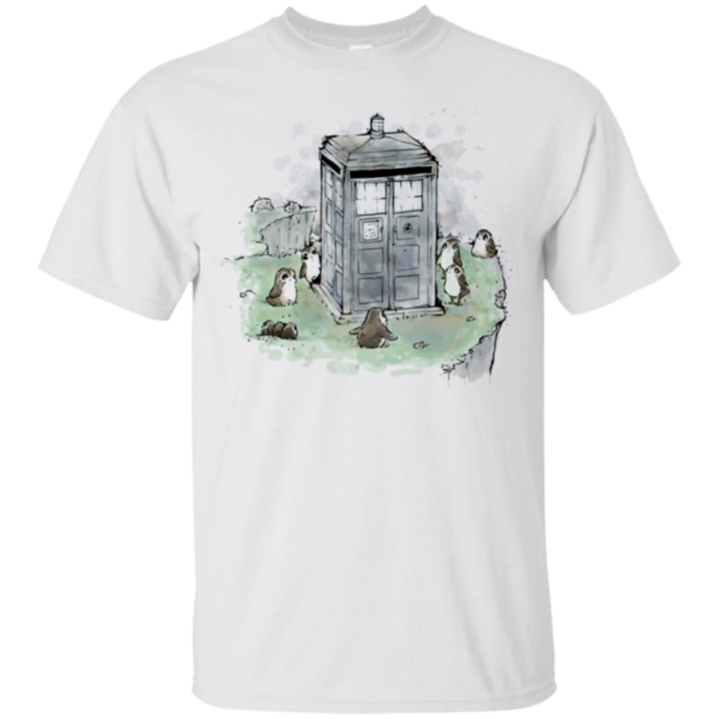 Pop-Up Tee: Tardis in Jedi Island