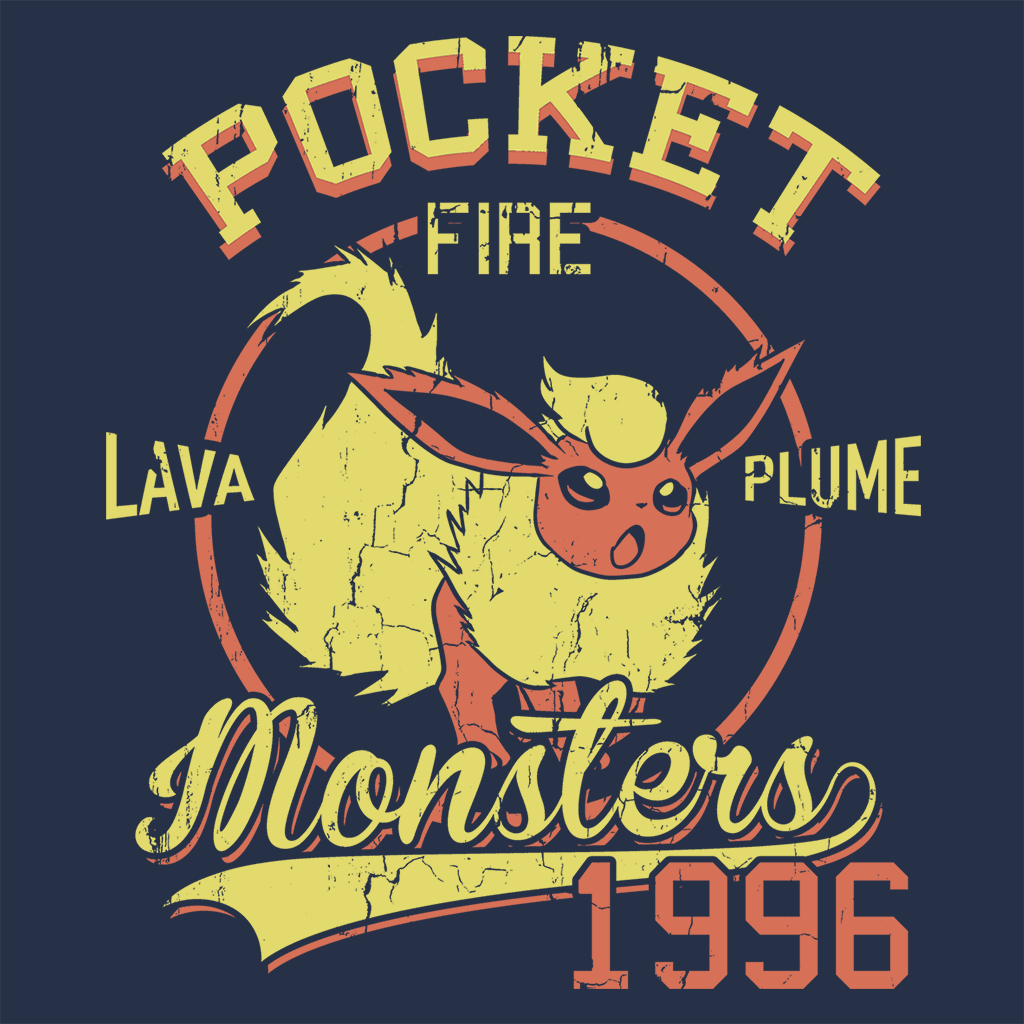 Pop-Up Tee: Lava Plume