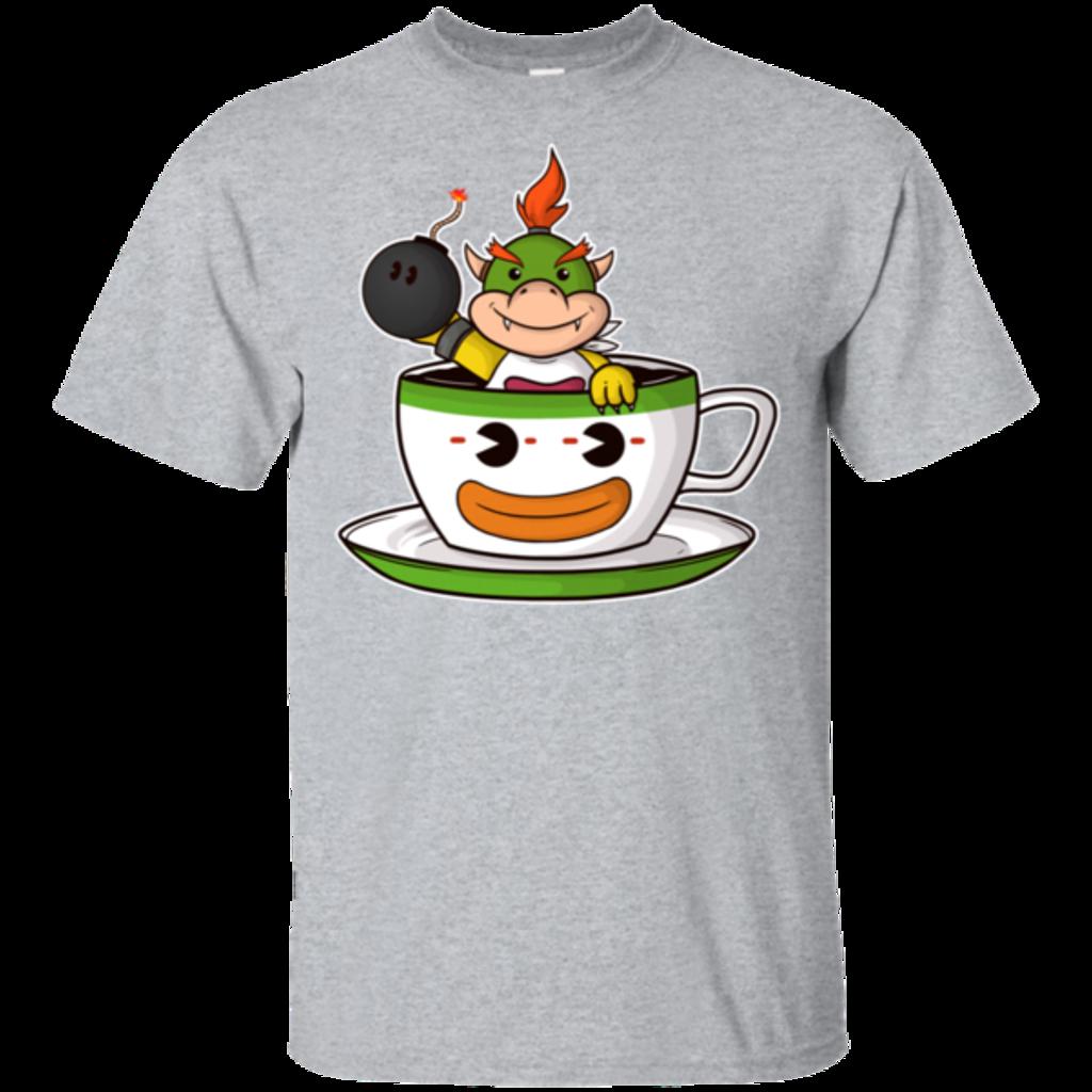 Pop-Up Tee: Koopa Tea