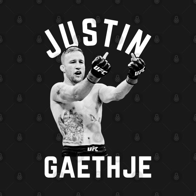 TeePublic: Justin Gaethje MMA
