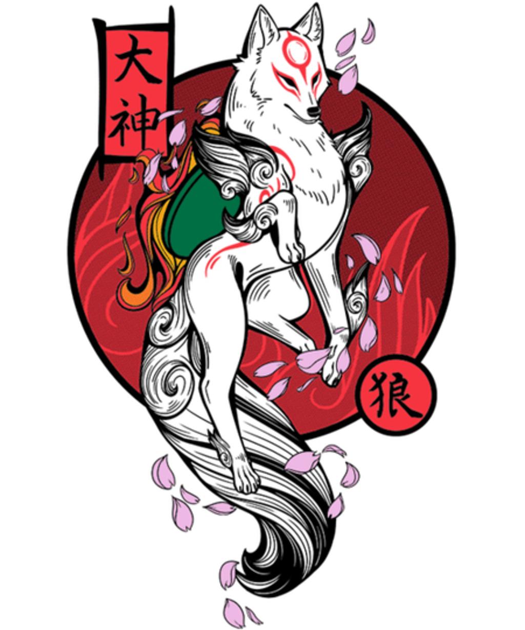 Qwertee: White Wolf God