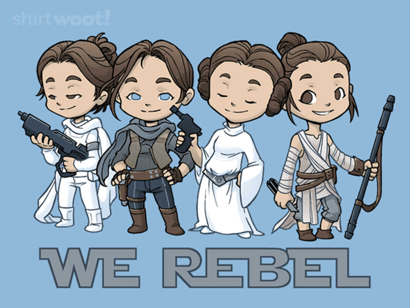 Woot!: Rebellious Ladies