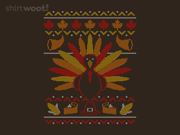 Woot!: Ugly Thanksgiving Tee