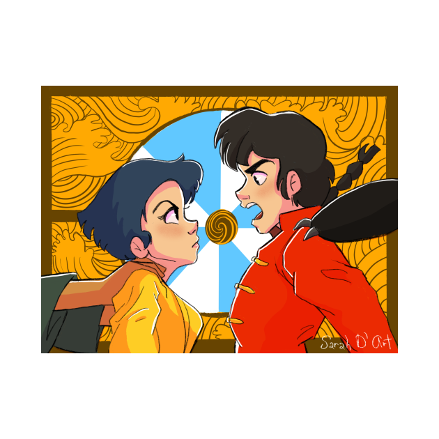 TeePublic: Ranma and Akane
