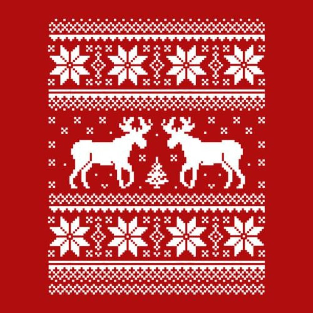 Five Finger Tees: Ugly Christmas Sweater T-Shirt