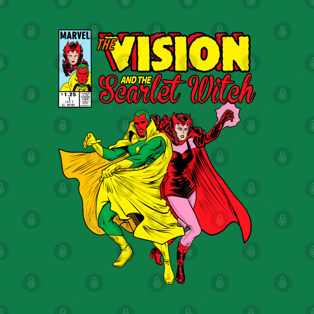 TeePublic: The Vision and Scarlet Witch 🔝