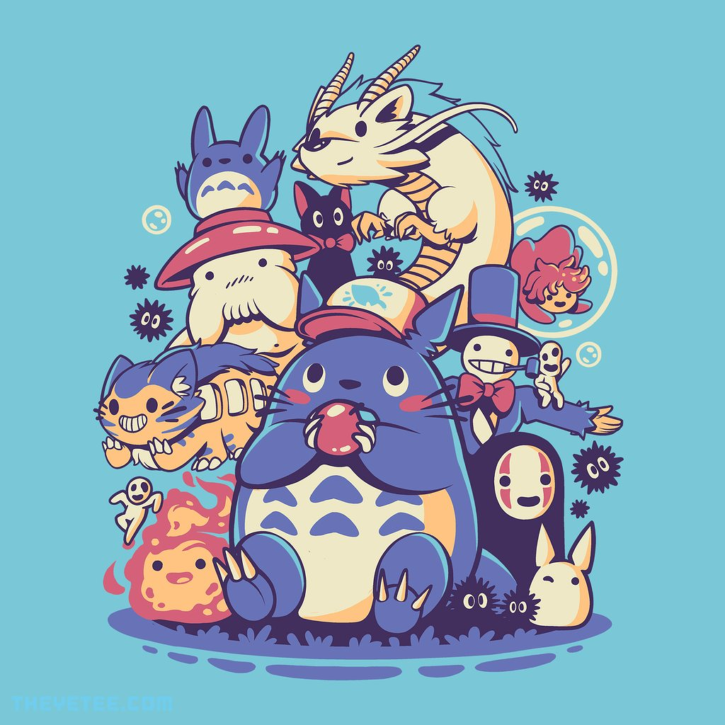 The Yetee: Creatures Spirits and friends by ilustrata