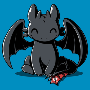 TeeTurtle: Happy Toothless