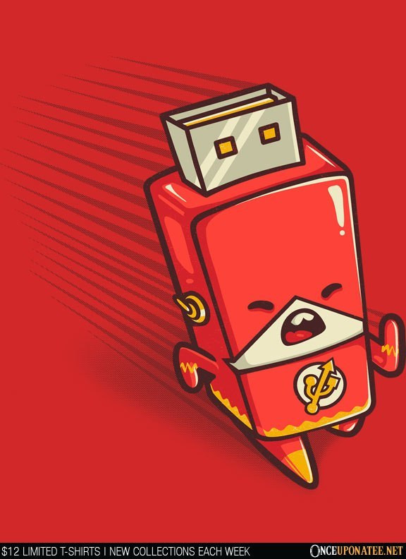 Once Upon a Tee: Flash Drive