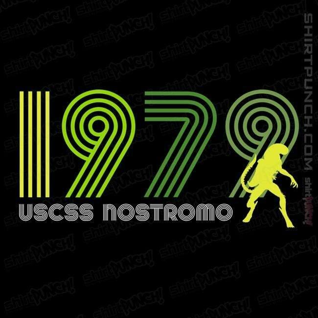 ShirtPunch: USCSS Nostromo 1979