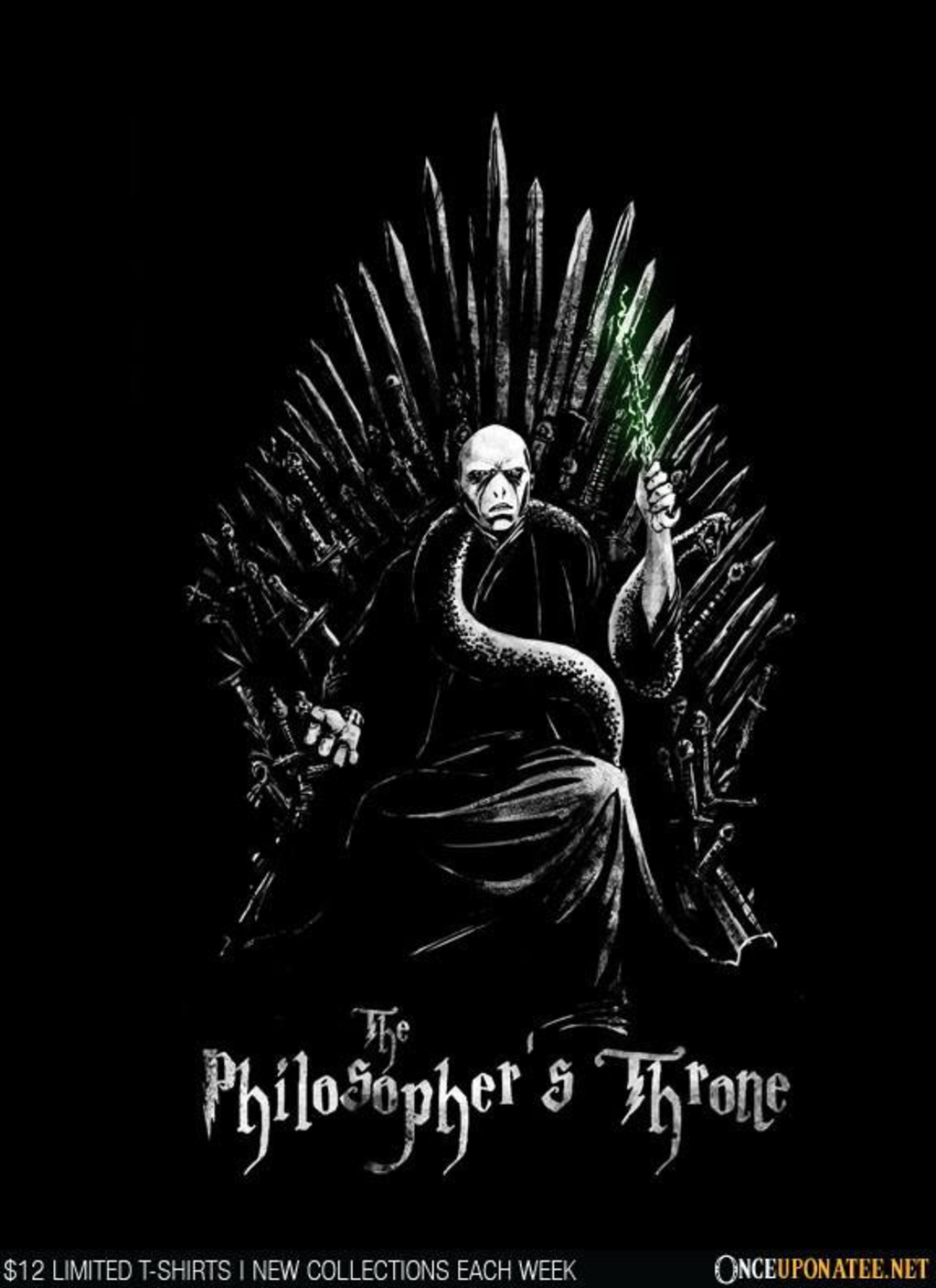 Once Upon a Tee: The Philosopher's Throne