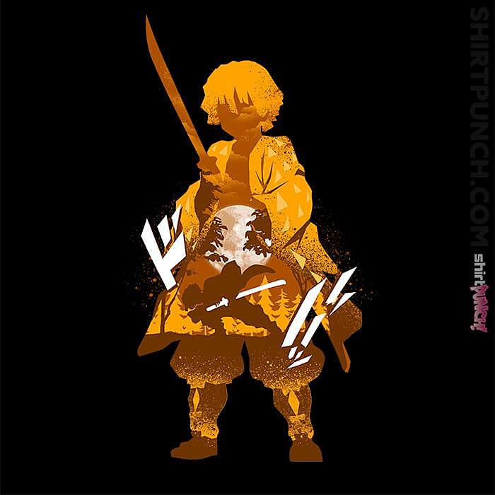 ShirtPunch: Zenitsu Agatsuma