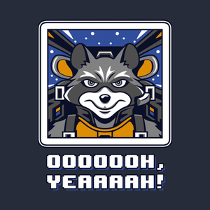 TeePublic: Star Raccoon V2