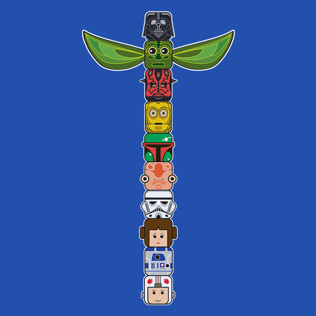 Pop-Up Tee: Star Wars Totem