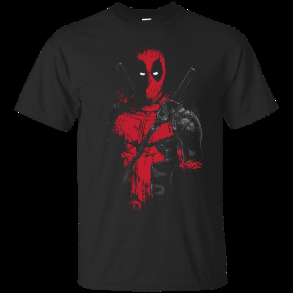 Pop-Up Tee: Red Mercenary