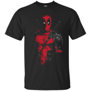 Pop-Up Tee: Red Mercenary