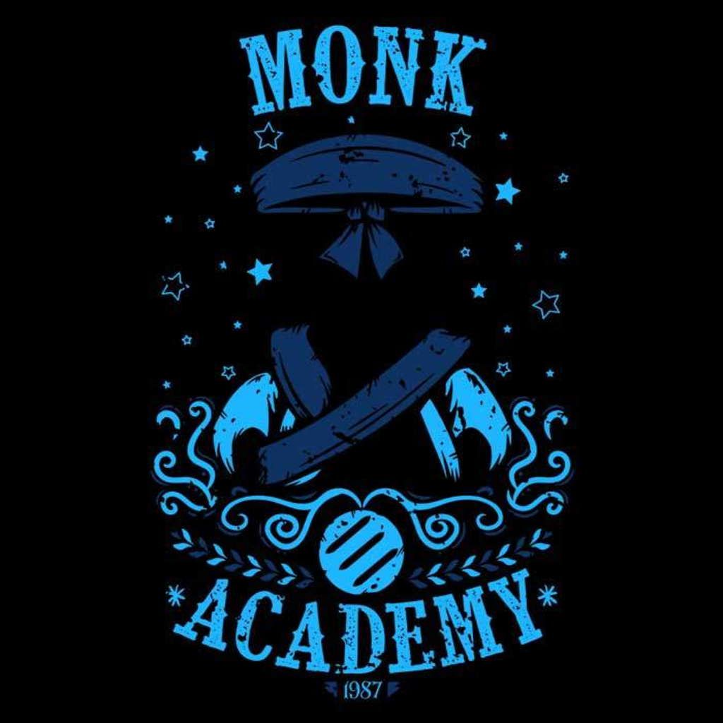 Once Upon a Tee: Monk Academy