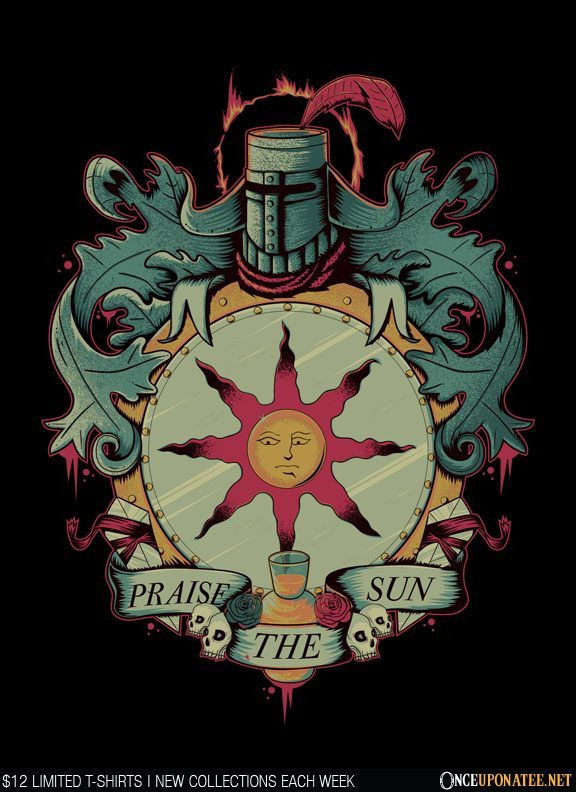 Once Upon a Tee: Crest of Solaire