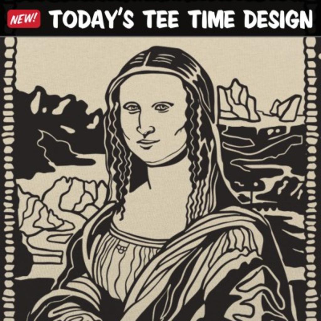 6 Dollar Shirts: Mona Lisa