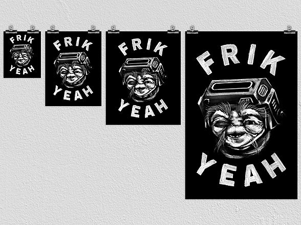 Woot!: Frik Yeah Poster